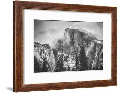 Misty Half Dome at Yosemite, California-Vincent James-Framed Photographic Print