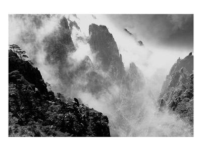 Misty Huangshan, China--Art Print