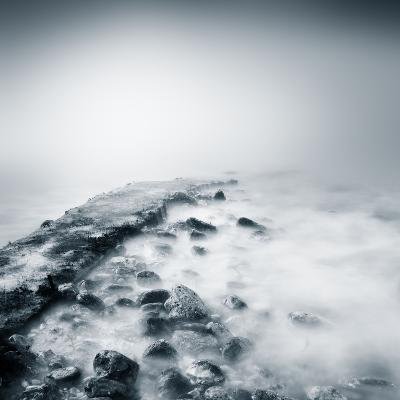 Misty Jetty- Icollection-Photographic Print