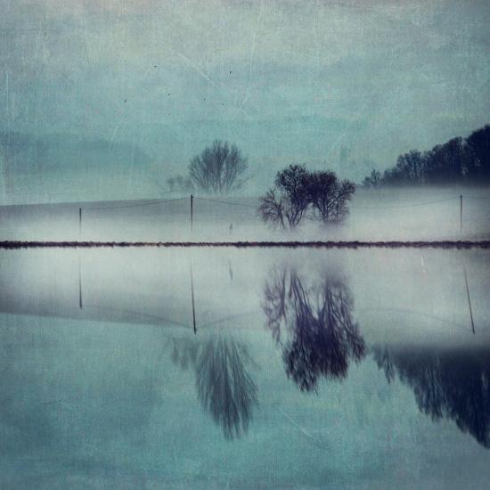 Misty Mirror-Dirk Wuestenhagen-Art Print