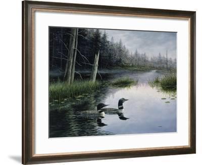 Misty Morn-John Morrow-Framed Giclee Print