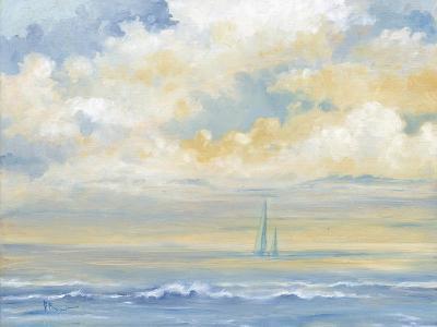 Misty Morning Sail-Paul Brent-Art Print