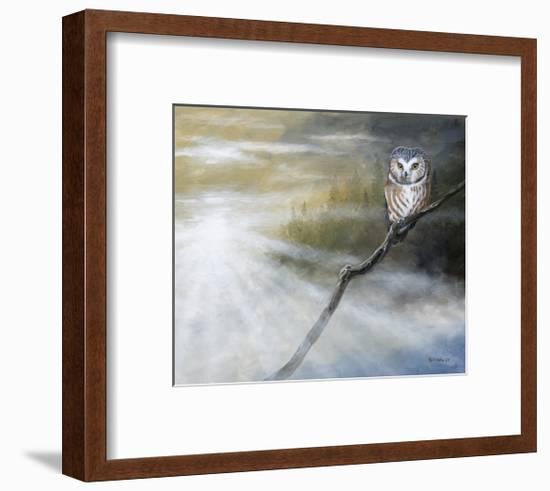 Misty Wild II-B. Lynnsy-Framed Art Print