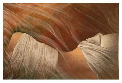 Misty Woman III-Alijan Alijanpour-Art Print