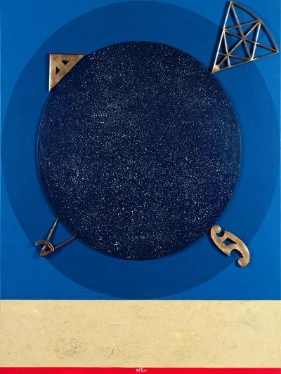 Misuratore, 1999-Lucio Del Pezzo-Giclee Print