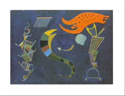 Mit dem Pfeil, c.1943-Wassily Kandinsky-Art Print