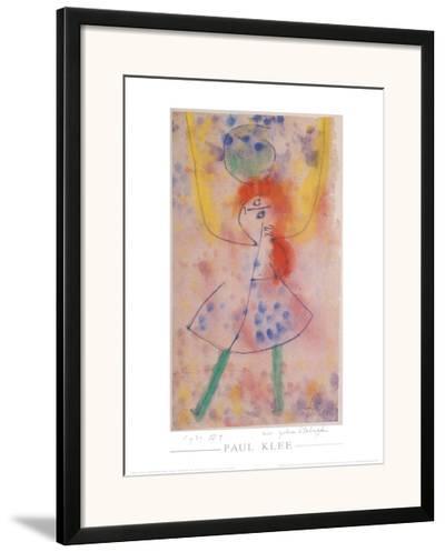 Mit Grunen Strumpfen, 1939-Paul Klee-Framed Art Print