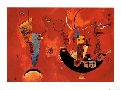 Mit und Gegen, c.1929-Wassily Kandinsky-Art Print
