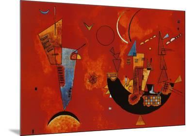 Mit und Gegen, c.1929-Wassily Kandinsky-Mounted Print