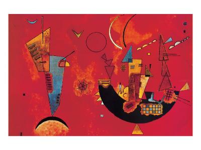 Mit und Gegen-Wassily Kandinsky-Premium Giclee Print