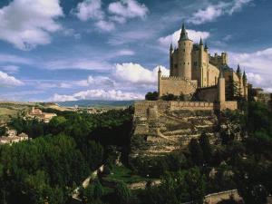 Castle, Spain by Mitch Diamond