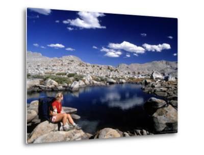 Hiker, Sierra Nevada Range, CA