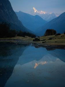 Stream by River, Cordillera Blanca, Peru by Mitch Diamond