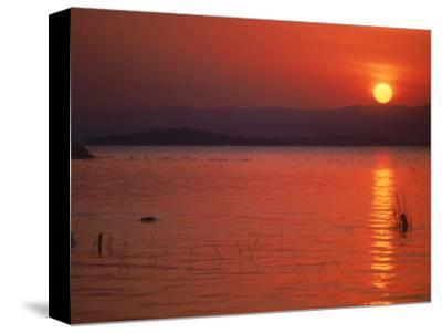 Sunset Over Water, Kenya