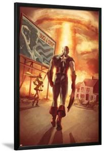 Captain America: Patriot No.4 Cover: Captain America Walking by Mitchell Breitweiser