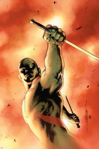 Drax The Destroyer No.3 Cover: Drax The Destroyer Fighting by Mitchell Breitweiser