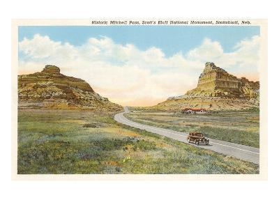 Mitchell Pass, Scottsbluff, Nebraska--Art Print