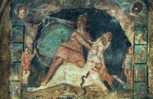 Mithras Killing The Bull