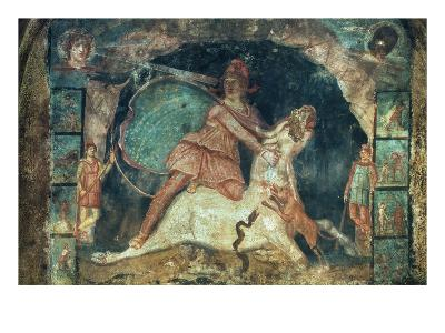 Mithras Killing The Bull--Giclee Print