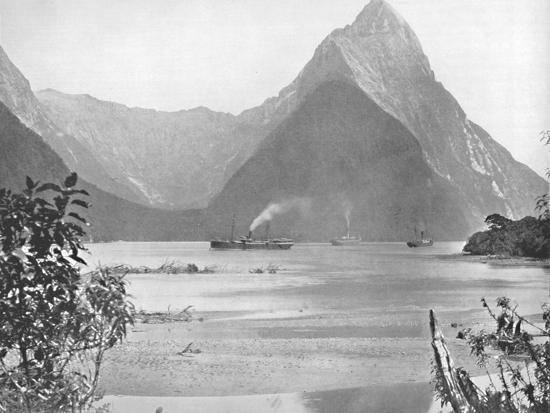 'Mitre Peak', 19th century-Unknown-Photographic Print