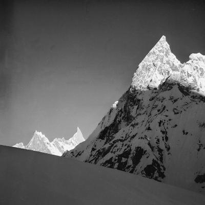 Mitria Peak (6100 Meters), Area Surrounding the Circo Concordia, Karakorum--Photographic Print