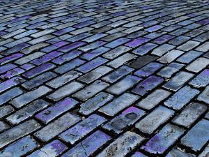 Blue Streets of Old San Juan, San Juan, Puerto Rico, USA, Caribbean by Miva Stock