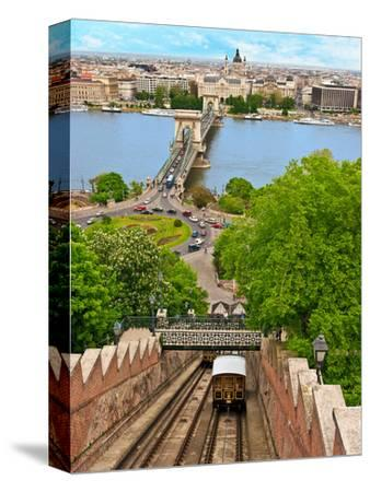 Castle Hill Funicular, Budapest, Hungary