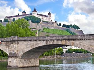 Marienberg Fortress, Wurzburg, Bavaria, Germany by Miva Stock