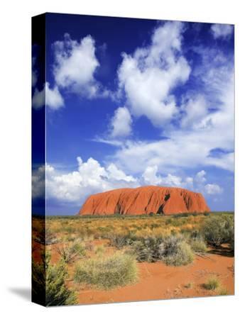 The Holy Mountain of Uluru, Ayers Rock, Uluru-Kata Tjuta National Park, Australia