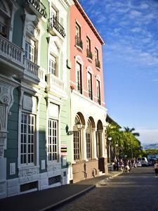 Typical Colonial Architecture, San Juan, Puerto Rico, USA, Caribbean by Miva Stock
