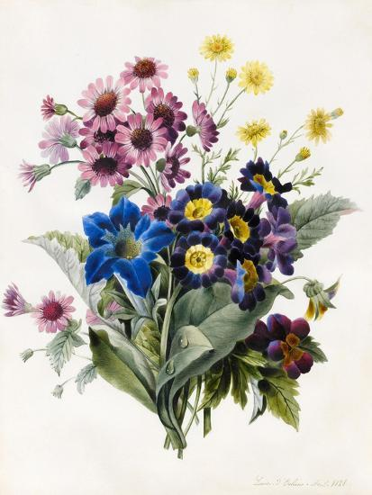 Mixed Flowers-Louise D'Orleans-Giclee Print