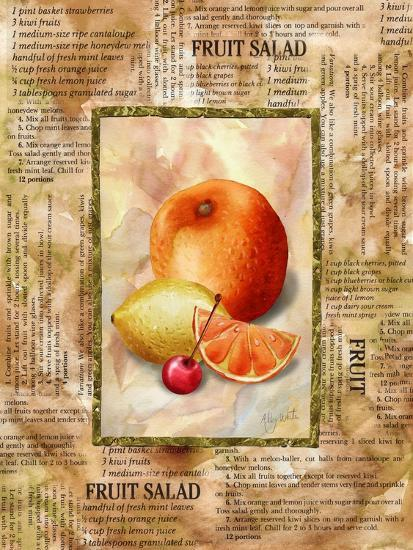 Mixed Fruit II-Abby White-Art Print