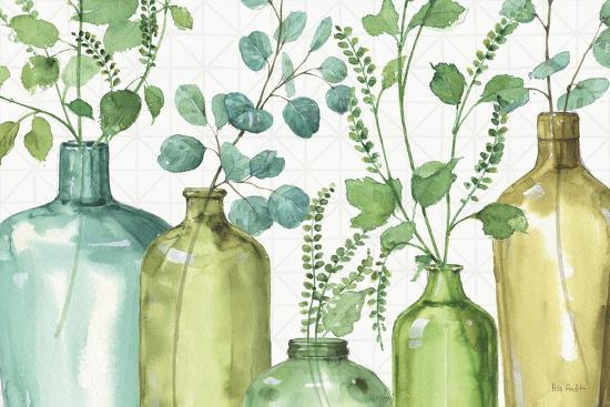 Mixed Greens L-Lisa Audit-Art Print