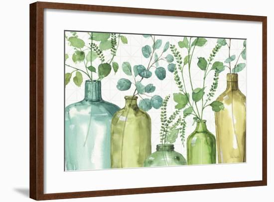 Mixed Greens L-Lisa Audit-Framed Art Print