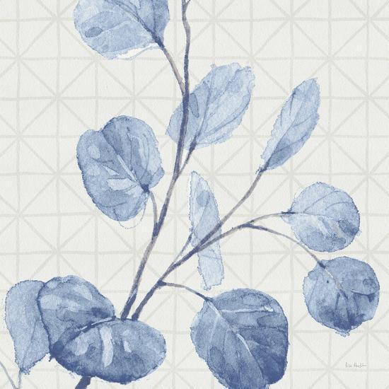 Mixed Greens LI Blue-Lisa Audit-Art Print
