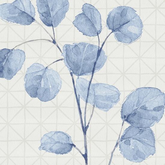 Mixed Greens LII Blue-Lisa Audit-Art Print