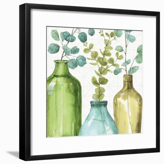 Mixed Greens LVI-Lisa Audit-Framed Art Print