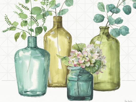 Mixed Greens LXII-Lisa Audit-Art Print