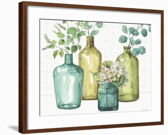 Mixed Greens LXII-Lisa Audit-Framed Art Print