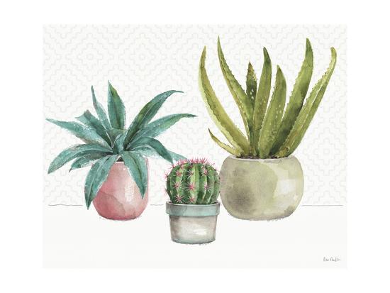 Mixed Greens XLV-Lisa Audit-Art Print