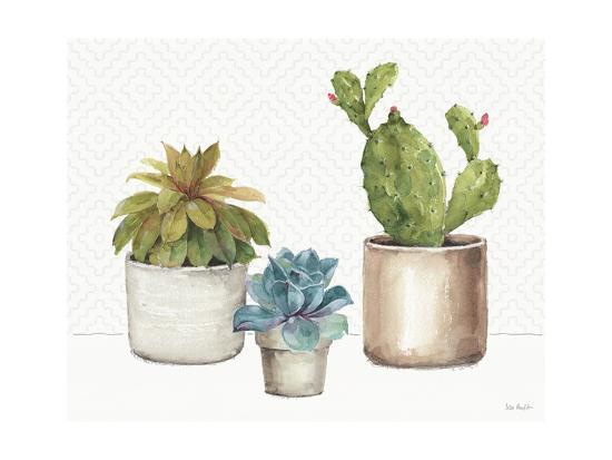Mixed Greens XLVI-Lisa Audit-Art Print