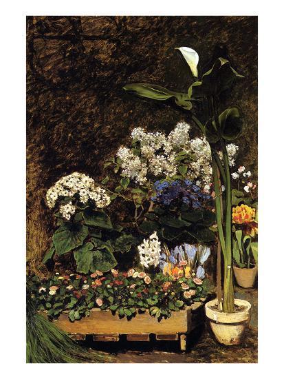 Mixed Spring Flowers-Pierre-Auguste Renoir-Art Print