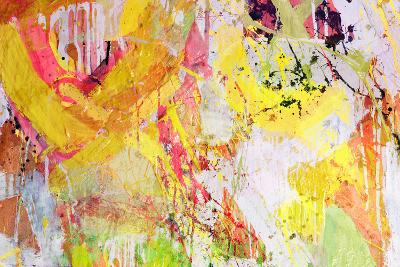 Mixed Technics, Expression Abstract Painting-dpaint-Art Print