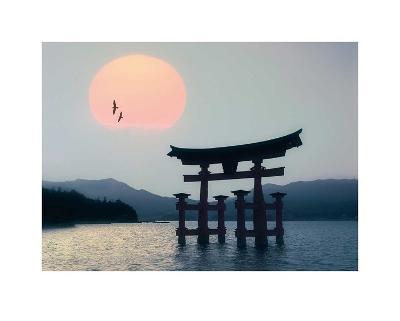 Miyajima, Japan-Edmund N?gele-Art Print