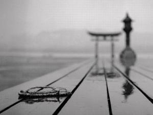 Miyajima Sanctuary: Rain and a Forgotten Sandal