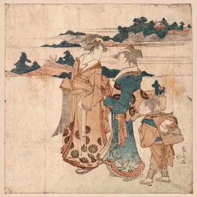Miyamode Suru Bijin--Giclee Print