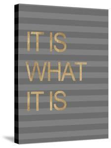 It Is What it Is Stripes by Miyo Amori