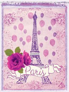 Pretty Paris Polaroid 1 by Miyo Amori