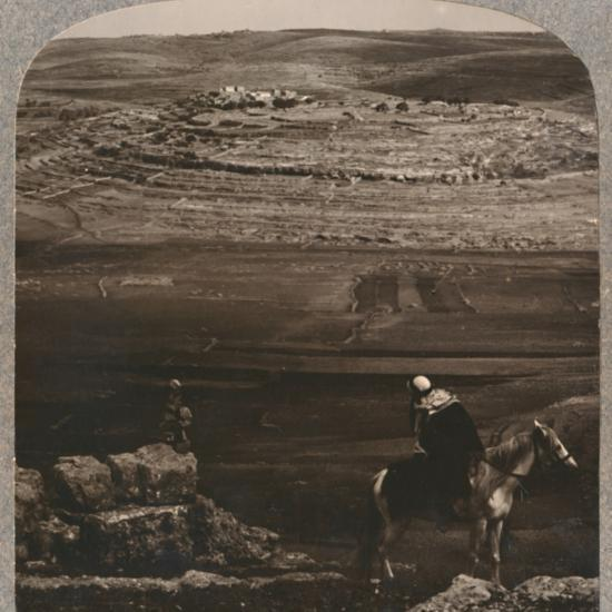 'Mizpeh, with Jacob's Pllar of Stones', c1900-Unknown-Photographic Print