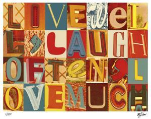 Live Well, Laugh Often by Mj Lew